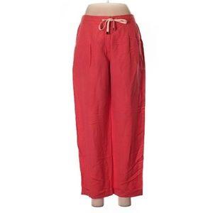 LAFAYETTE 148 Casual Pants 4 Coral Orange Crop